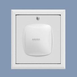 Locking Recessed Wall & Hard-lid Ceiling Access Point Enclosure, 12.75 X 12.75 X 3 In. Back Box, Aruba AP215 Door
