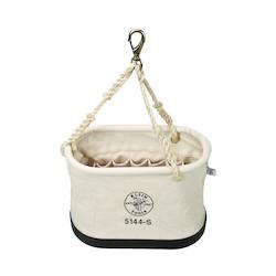 Oval Bucket with 15 Interior Pockets