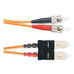 ST-SC 62.5 micron mm Duplex Patch Cord 1m