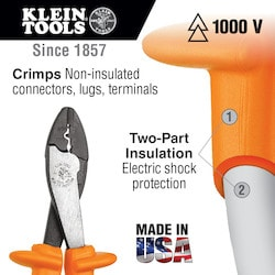 Insulated Crimping/Cutting Tool