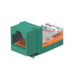 NK Category 5e leadframe Jack module, Green