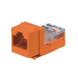 NK catégorie 5e leadframe module Jack, Orange