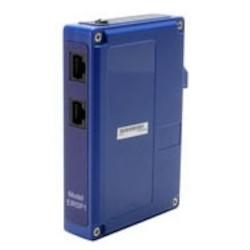 Industrial Ethernet Surge Suppressor, 1-Stage, 1-Port, 10/100 BaseT Ethernet, RJ45 Connector, DIN-Rail Mount, 60 Volt, 1000 Ampere, 600 Watt