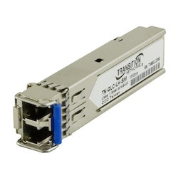 Duplex Gigabit Ethernet SFP, 1000Base-LX 1310nm single mode (LC) [10 km/6.2 mi.]