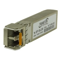 10 Gigabit Ethernet SFP, 10GBase-SR, SFP+ with DMI 850nm multimode (LC) [300/82/33 m; 985/269/108 ft.]