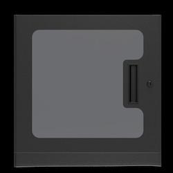 """1"""" Deep Plexiglass Door for WMA 10RU"""