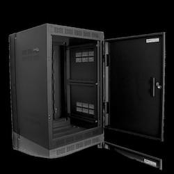 "16RU High Strength Wall Cabinet with Adjustable Rails, 23.5"" Deep"