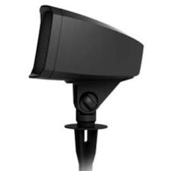 "Speaker, Landscape Satellite, 8 Ohm, 90 dB, 100 Watt, 77 Hertz to 35 Kilohertz, 105 Degree Coverage Angle, 6.5"" Woofer, 8.27"" x 8.82"" x 11.02"", Brown Matte"