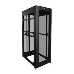 """SNE Series Rack, SNE27D-4236-P1AB, 36"""" D X 79 1/2"""" H, Passive Cooling, Without Side Panels"""
