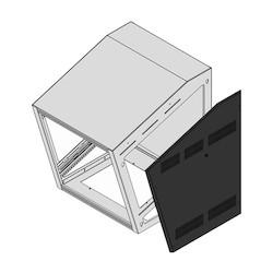 Side Panels, SC3T-1427-1217-1217BK