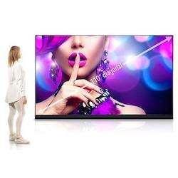 """Full HD LED Kit, 2000 Watt, 110"""" Écran, 1920 x 1080 Résolution, 16:9 Aspect Ratio, 700 Candela par mètre carré, 6500 Kelvin Température de couleur, 1,26 MM Pixel Pitch, Avec Installation"""