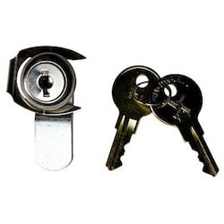 Lock Assembly, With (2) Key, For Enclosure
