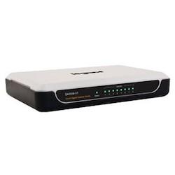 Ethernet Switch, 8-Port Gigabit, Desktop Mount