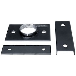 Adapter, Non-Security Hardware, 250 Lb Load Capacity, Heavy Gauge Cold Rolled Steel, Powder Coated, Black, For Truss Ceiling