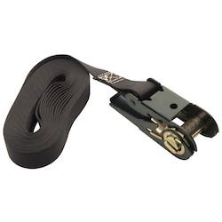 "Jumbo Mount Safety Belt, Tie-Down, 300 Lb Load Capacity, 156"", Black"