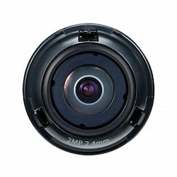 """1/2.8"""" 2M CMOS with a 2.4mm fixed focal lens, FoV: H: 135.4, V: 71.2"""