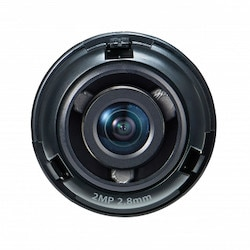 """1/2.8"""" 2M CMOS with a 2.8mm fixed focal lens, FoV: H: 107.4, V: 62.2"""