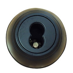 "Deadbolt, Grade-2, 1-Cylinder, Medium Duty, SFIC Core Prepped Keyway, 6-Way Adjustable Backset, 1-9/16 to 2"" Thickness Door, Hardened Steel Bolt, Oil Rubbed Dark Bronze"