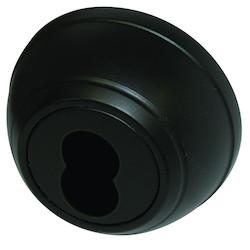 "Deadbolt, Grade-1, 2-Cylinder, Heavy Duty, SFIC Core Prepped Keyway, Square Corner, 2-3/4"" Backset, 1-9/16 to 2"" Thickness Door, Hardened Steel Bolt, Oil Rubbed Dark Bronze"