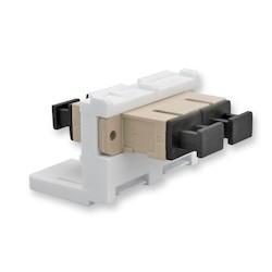 LANS Adapter Module, SC Duplex, Ceramic Sleeve
