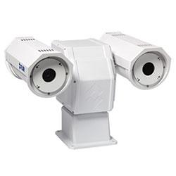 Caméra thermique PT-618 IP, NTSC, 640 x 480, 2 x et 4 x E-, 18 x 14 FOV, 35 mm téléobjectif