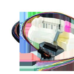 Buffer Tube Fan-Out Kit, outdoor, 6 fiber, 25-in legs