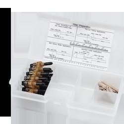 UniCam Connector, ST Compatible, Organizer Pack, 62.5 um Multimode (OM1)
