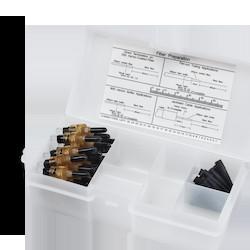 UniCam Connector, ST Compatible, Organizer Pack, 50 um Multimode (OM2)