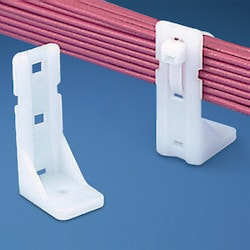Cable Manager, SUPPORTS WIRE BUNDLES ABOVE OR, AWAY FROM SURFACE