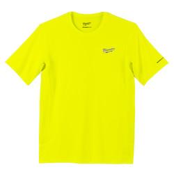 WORKSKIN Lightweight Performance Shirt - Short Sleeve - HI Vis M