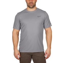 WORKSKIN Lightweight Performance Shirt - Short Sleeve - Gray 2X