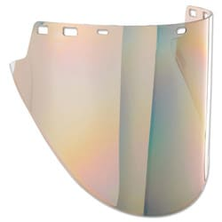 F50 Polycarbonate Special Face Shields, Gold