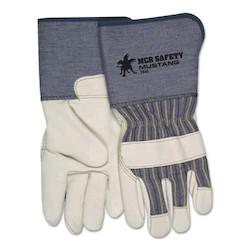 Grain Leather Palm Gloves, X-Large, Grain Cowhide