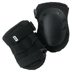 Superflex Knee Caps, Buckle, Black