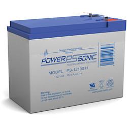 POWER-SONIC 12V 10.5 AMP      BATTERY F2 TERM
