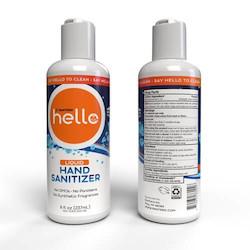 Hand Sanitizer, 8 oz, Liquid, Unscented