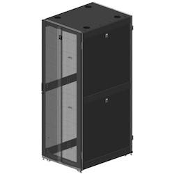 "GF-Series GlobalFrame Cabinet, Fully Configured, 42U, Black, 31.5""W x 43.3""D"