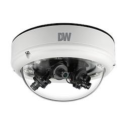 Star-Light Flex180 360 270 8MP Pano AHD Vandal Dome 4Mm(X4) TDN WDR IP66 5 Year NDAA