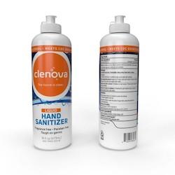 Hand Sanitizer, 16 oz, Liquid, Unscented