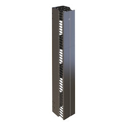 Vertical Manager (frame) With Three Section Removeable Cover, 41 Fingers, Front Only, (HxWxD) 42ux200x151mm, 10 Velcro Ties