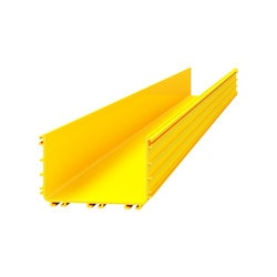 OptiWay 160 - Main Duct, 160 X 100mm, 2 Metre Length, Yellow, 1 Piece; For Connection Of Straight Ducts Use 1x OPW-16JO; (MOQ = 2 Pieces)