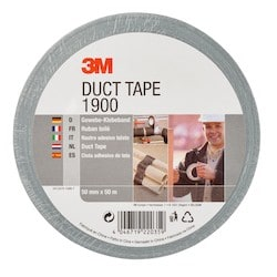 1900 DUCT TAPE SILVER 50MMX50M 24/CV