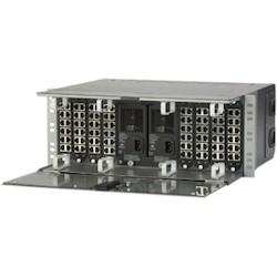 Pretium Connector Housing (PCH) Four Rack Units, Holds 12 CCH Connector Panels