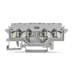 4 CONDUCTOR CARRIER GRAY      TERMINAL BLOCK