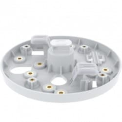 4-PACK OF LIGHTING TRACK MOUNTS. COLOR: WHITE