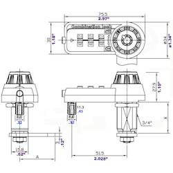 """7440L                         COMBI-CAM ULTRA,1-1/8"""",MK OVER"""