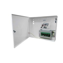 24V DC 4A small mild steel wall mount Power Centre