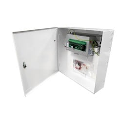 24V DC 4A Extra-small mild steel wall mount Power Centre