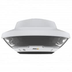 Outdoor-ready 360 situational awareness camera, comprising of 4x5MP sensors @ 20fps in H.264/H.265 Zipstream and Motion JPEG. Movable sensors with exchangeable lenses. Autofocus, D/N. Directional Audio Detection