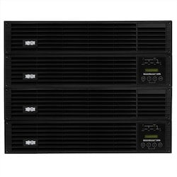 Tripp Lite SU12KRT4UHW 12,000VA / 12Kva / 10,800 watt online, double-conversion UPS system offers complete power protection for critical server, network and telecommunications equipment in an 8U rack/tower configuration.